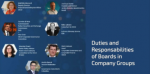 Duties and Responsabilities of Boards in Company Groups